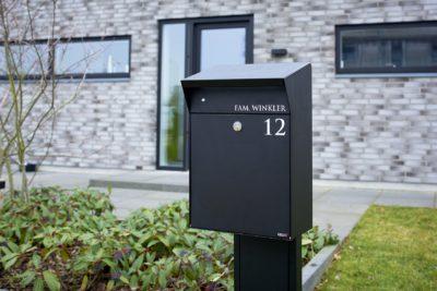 De moderne brievenbus