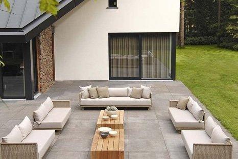 Moderne tuinmeubelen t hooft pure verwennerij voor uw tuin