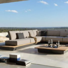 Air Lounge Manutti aan zwembad