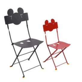 Fermob mickey mouse adult and kid chair