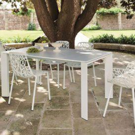 Fast Grande Arche tafel met Forest stoelen