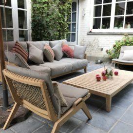 Unopiu welcome lounge en Synthesis low dining stoelen