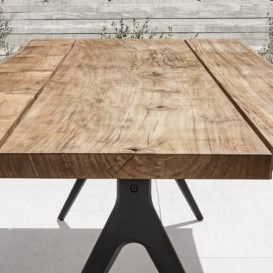 Gloster raw tafel met charmante V-poot
