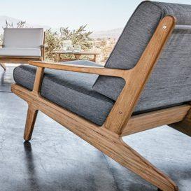 Gloster Bay lounge single seat