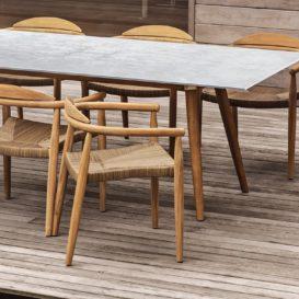 Gloster Dansk stoelen en tafel