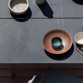 Gloster Split keramische tafel bovenaanzicht