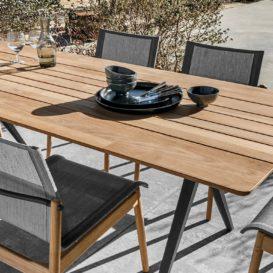 Gloster Split tafel en stoelen in teak