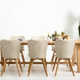 Vincent Sheppard Lena oak legs with bernard table