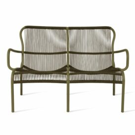 Vincent Sheppard Loop 2 seater in moss