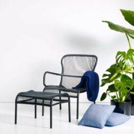 Vincent Sheppard Loop lounge chair black