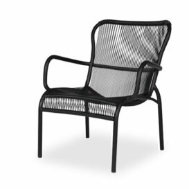 Vincent Sheppard Loop lounge chair in detail