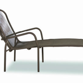 Vincent Sheppard Loop sunlounger in taupe