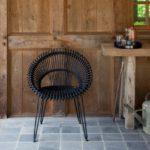 Vincent Sheppard Roxy chair black