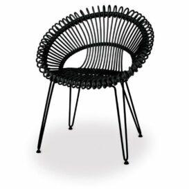 Vincent Sheppard Roxy chair black product shot