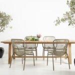 Vincent Sheppard Bernard tafel met Loop dining chairs