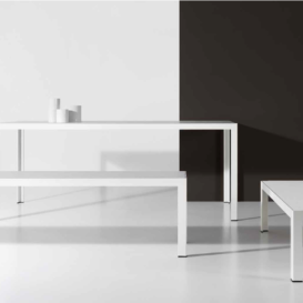 Bivaq Dats table and bench and sidetable