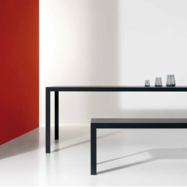 Bivaq Dats table in black
