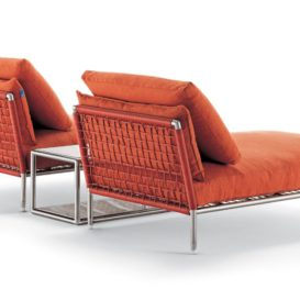 Coro Nest chaise longue back