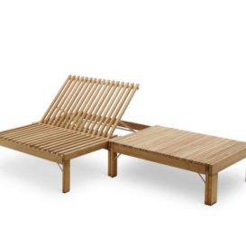 Skagerak Riviera lounge and sunbed
