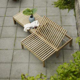 Skagerak Riviera lounge without cushions