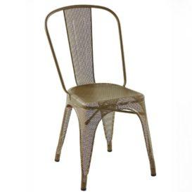 Iconisch ijzeren stoeltje