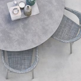 Varaschin Clever dining set top view