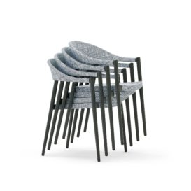 Clever stackable chairs