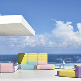 Varaschin Ischia lounge in crazy colour setup