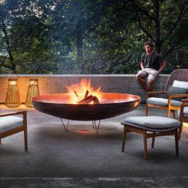 Gloster Kay around fireplace