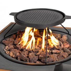 Happy cocooning grillplaat voor boven cocoon
