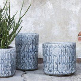Serax Sixties potten blauw