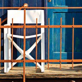 Design chair la regista T17 white