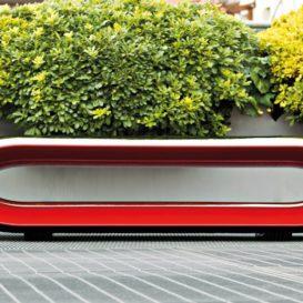 Design garden bench Loop