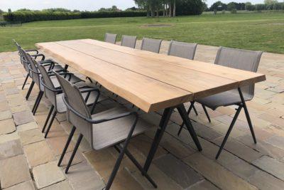 Gloster Raw tafel & Ryder stoelen