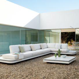 Manutti Elements L-shaped outdoor lounge-min