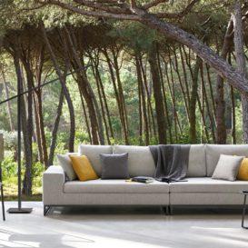 Manutti Fuse stoelen met Zendo Lounge detailfoto-min