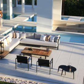 Royal Botania Alura Lounge met Alura low dining aan zwembad-min