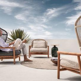 Gloster fern lounge set #1