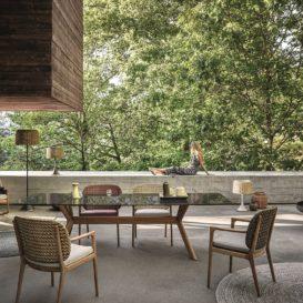 Gloster kay & x-frame dining set #1