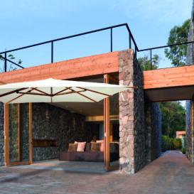Jardinico Borneo bij Villa