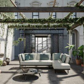 Manutti Flex lounge - city garden