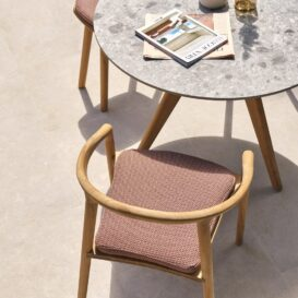 Manutti Torsa small dining table top view